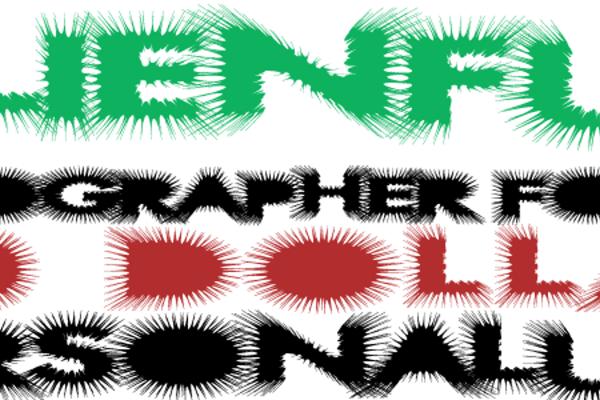 AlienFur Font | Xerographer Fonts | FontSpace