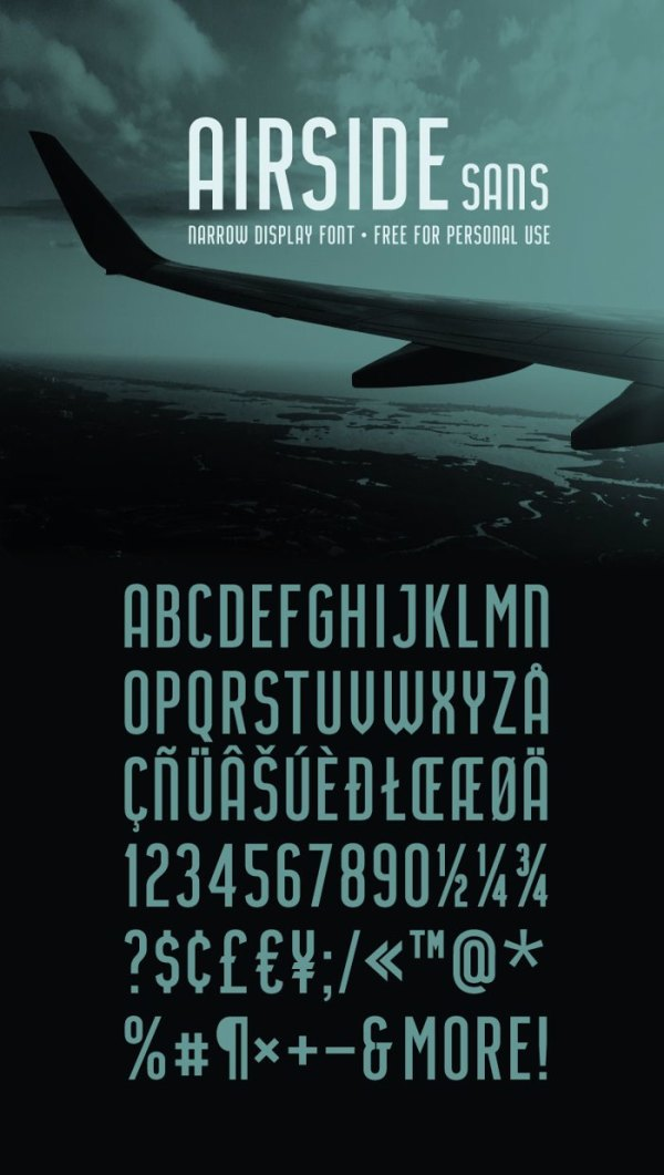 Airside Sans Font | HENRIavecunK | FontSpace