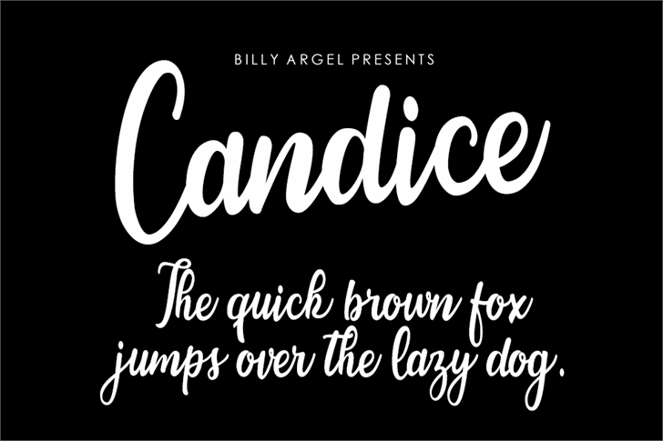 Image for Candice font
