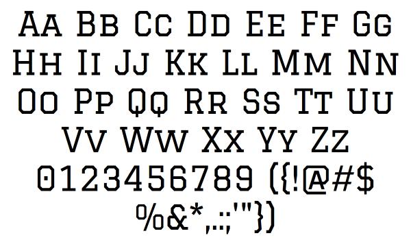 Graduate Font - FontSpace