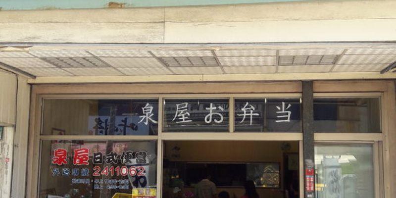 【台南市-中西區】泉屋日本料理  高CP值的80元日式便當