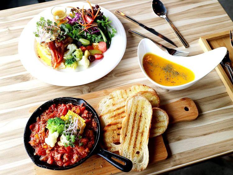 【台南市-北區】MAP LAB Kitchen  旅圖餐廚:在貨櫃屋裡品嚐異國風味早午餐,健康低脂新享受,讓你身體無負擔!|早午餐,甜點,下午茶,義大利麵|近花園夜市|