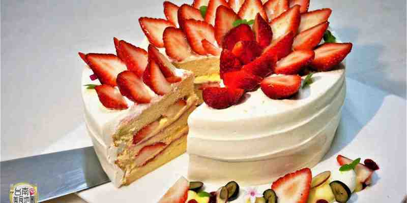 【台南-北區甜點】草莓如花般璀璨盛開的『爆炸草莓』❤輕.甜點工坊,好看好吃更好拍唷L(*OεV*)E