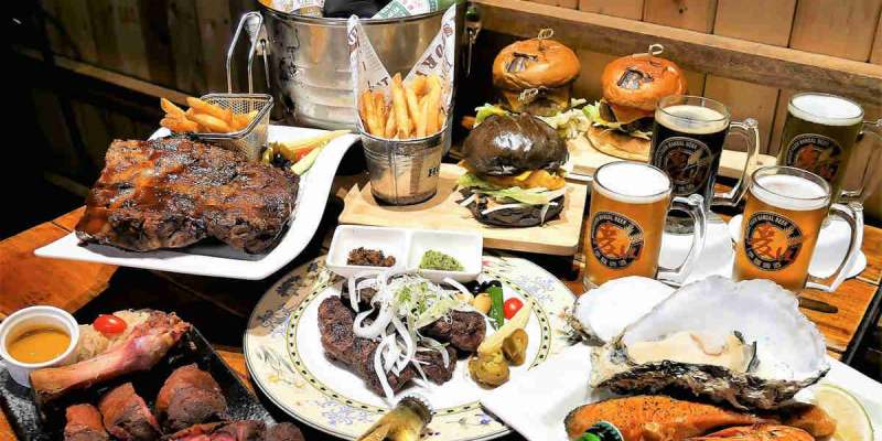 【台南-善化美食】南科附近吃飯聚餐的好選擇,美式風格看球賽小酌一番很適合