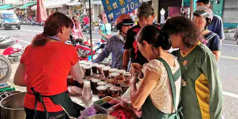 台南東區美食│紅豆豆花/八寶粥/紅豆薏仁一杯10元真的沒騙你,都不知到老闆要賺蝦蜜了