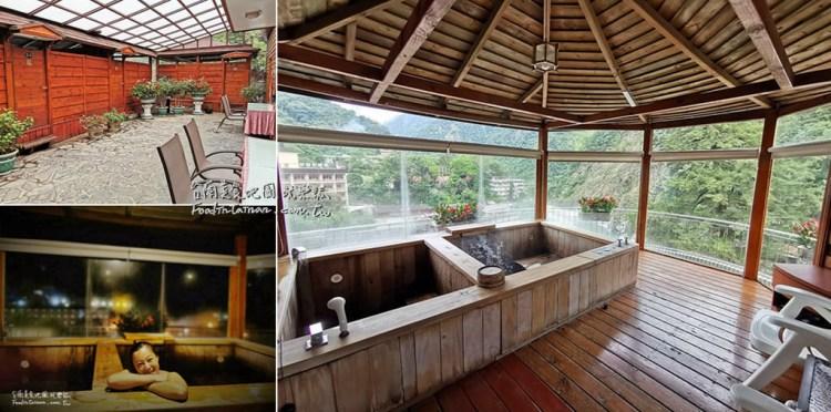 台中旅遊│來谷關泡溫泉一定要來神木谷假期大飯店的檜木湯屋,溫泉水質好View超棒