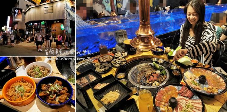 台南東區美食︱泰國水道蝦+鐵板燒的吃到飽燒烤,還有酷聖石冰淇淋隨意吃~你(妳)還不來尖叫嗎🤩