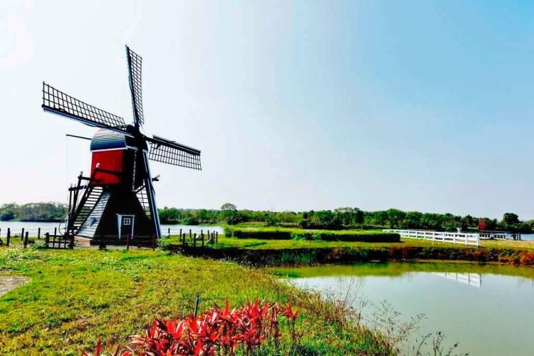 2019德元埤荷蘭村風車節🧚♀走進梵谷的畫中視界互動取景!還有表演和市集的美麗邂逅喔❤