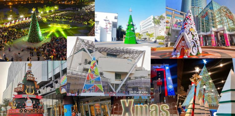 2019台南市各區聖誕燈節點燈晚會&活動資訊一覽表~