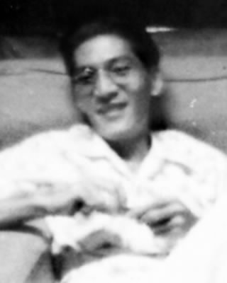 Jose Tan Chua in the 1950s.