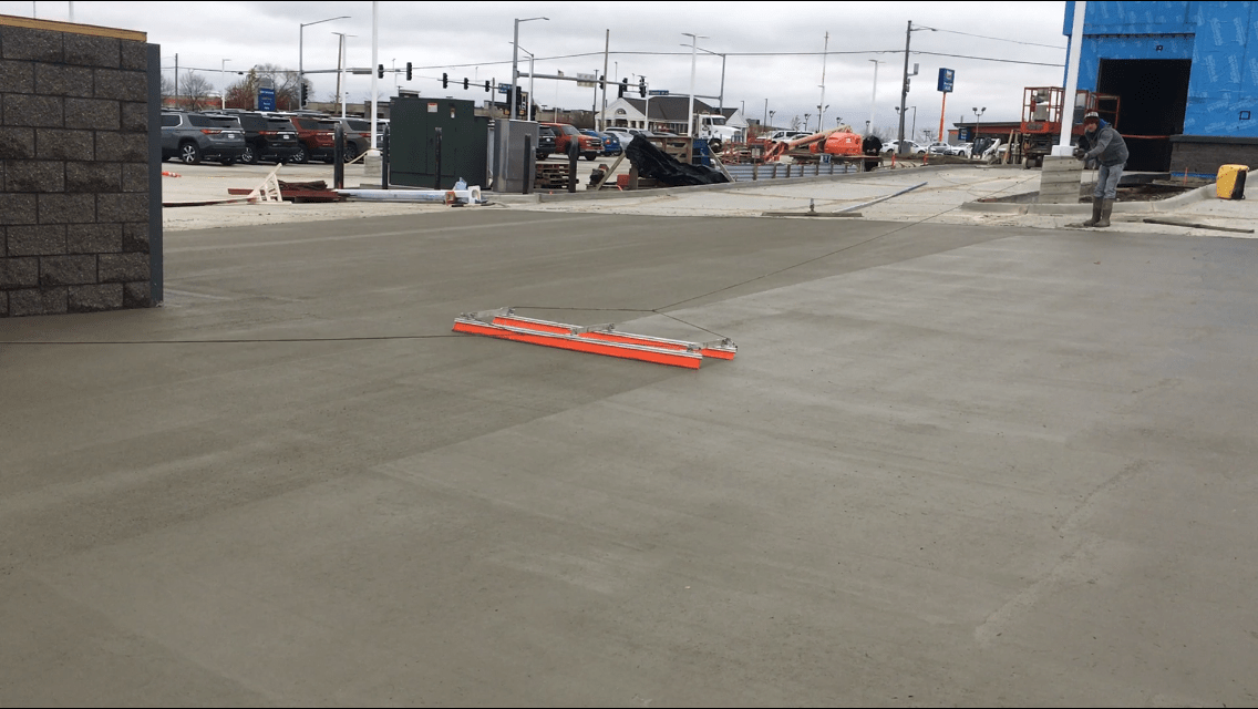 avoid broomed concrete finish disputes