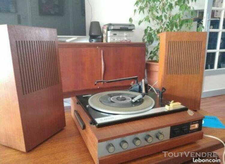 tourne disque philips gf 245 vintage a