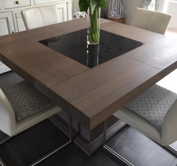 table carree rallonges offres fevrier