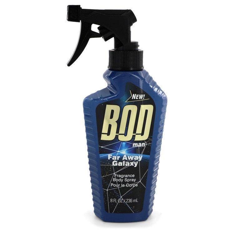 Bod Man Far Away Galaxy by Parfums De Coeur Fragrance Body Spray 8 oz for Men