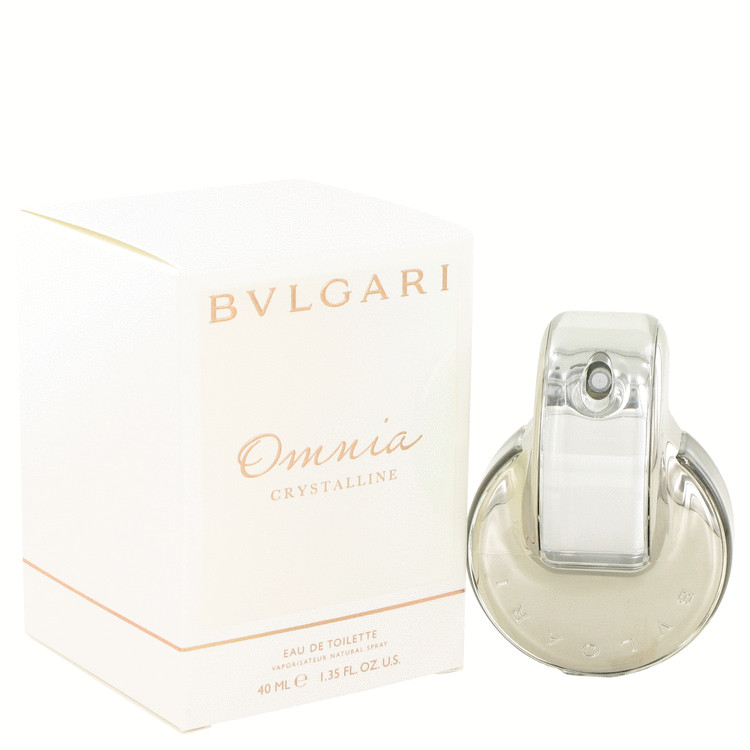 OMNIA CRYSTALLINE by Bvlgari Eau De Toilette Spray 1.35 oz for Women