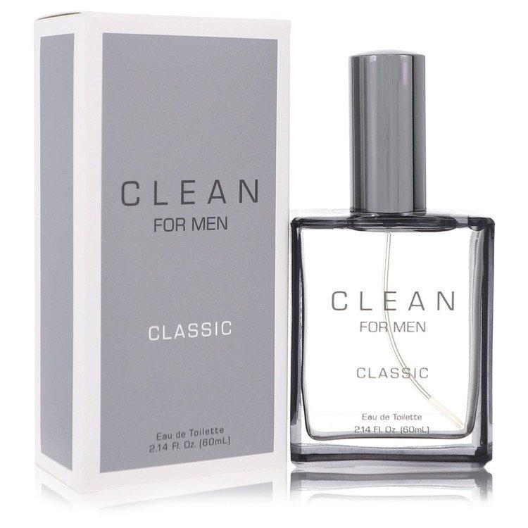 Clean Men by Clean Eau De Toilette Spray 2.14 oz for Men
