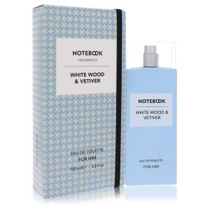 Notebook White Wood & Vetiver by Selectiva SPA