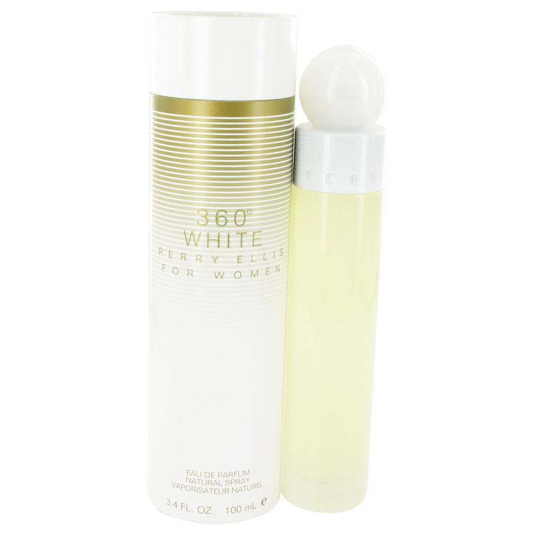 Perry Ellis 360 White by Perry Ellis Eau De Parfum Spray 3.4 oz for Women