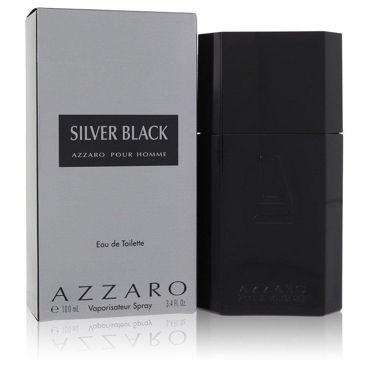 Silver Black by Azzaro Eau De Toilette Spray 3.4 oz for Men