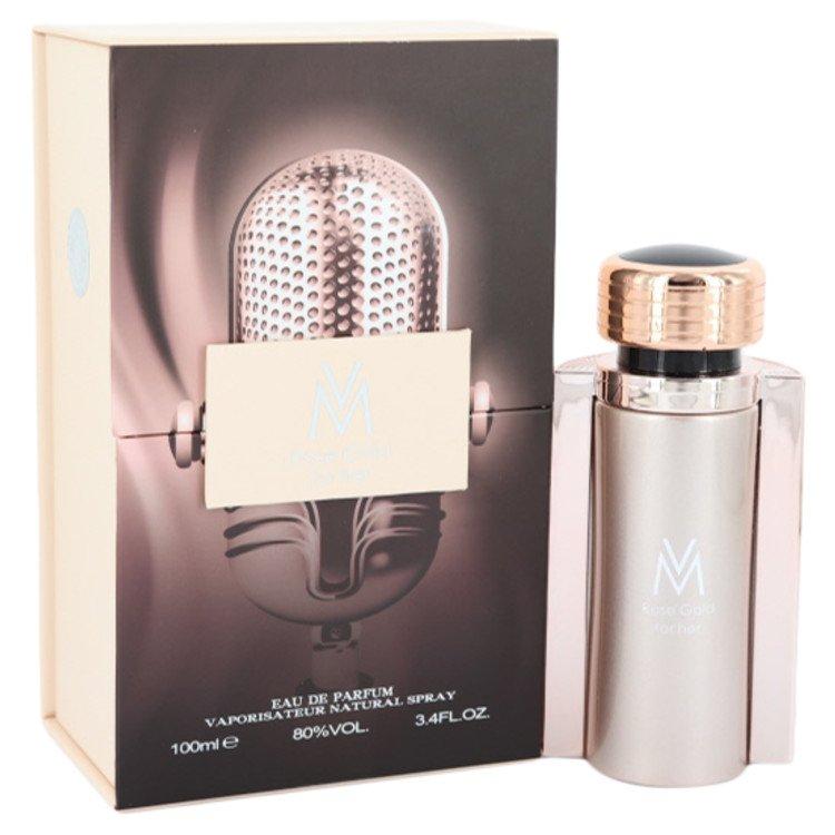 Victor Manuelle Rose Gold by Victor Manuelle Eau De Parfum Spray 3.4 oz