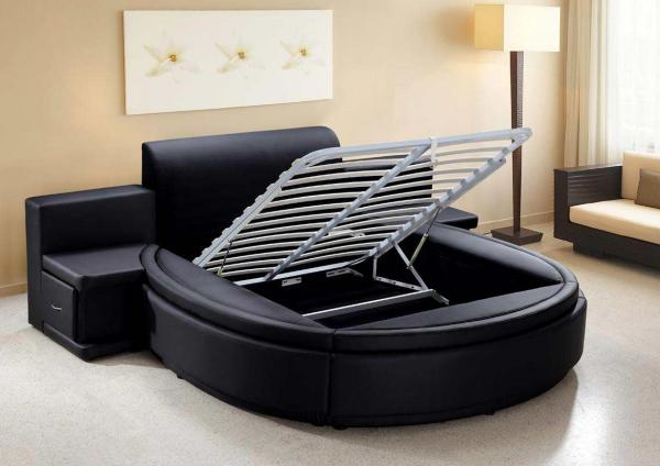 Queen Size Bed Round Images