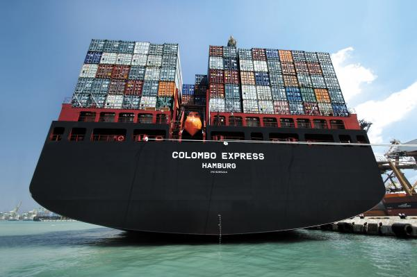 Ocean Freight Containers Images