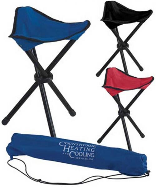 Round Collapsible Camp Chair
