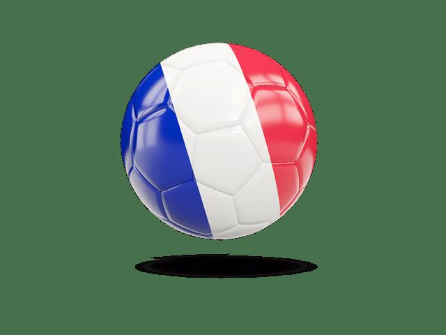 Glossy Soccer Ball. Illustration Of Flag Of France