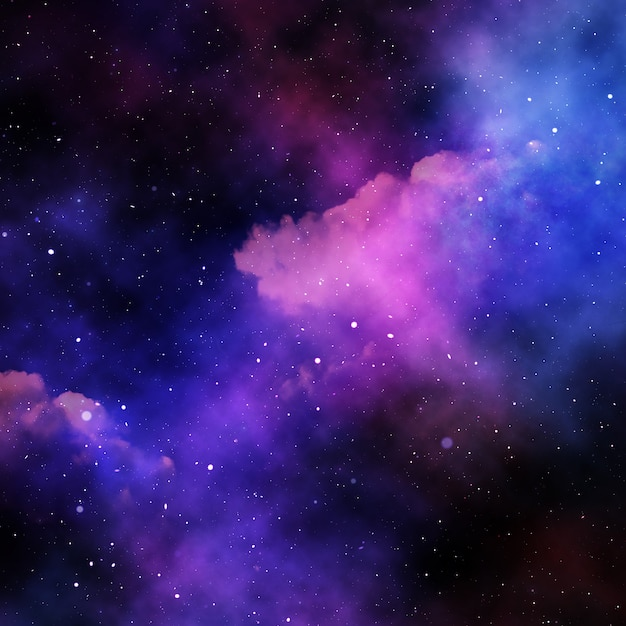 Stars filled space background Vector | Free Download