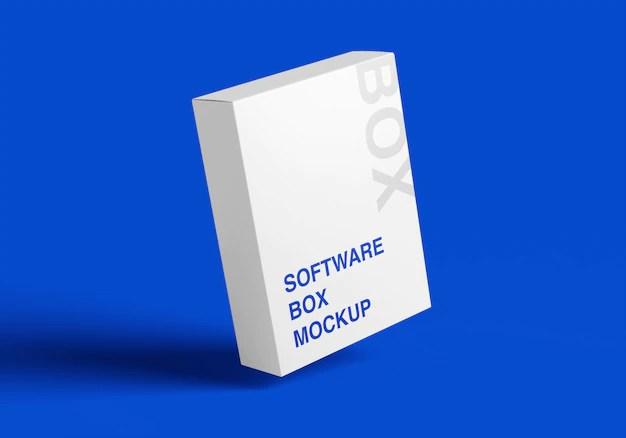 Download Software box psd mockup | Free PSD File
