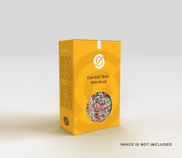 Sign up for a pro account with. Premium Psd Cereal Box Mockup