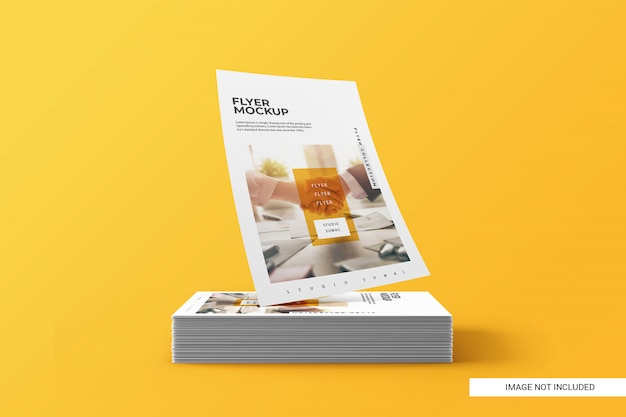 It uses smart layers to let you easily drag. Flyer Mockup Images Free Vectors Stock Photos Psd