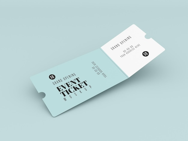 With this professional cinema ticket mockup you can display your cinema ticket design to clients in style! Event Ticket Mockup Images Free Vectors Stock Photos Psd