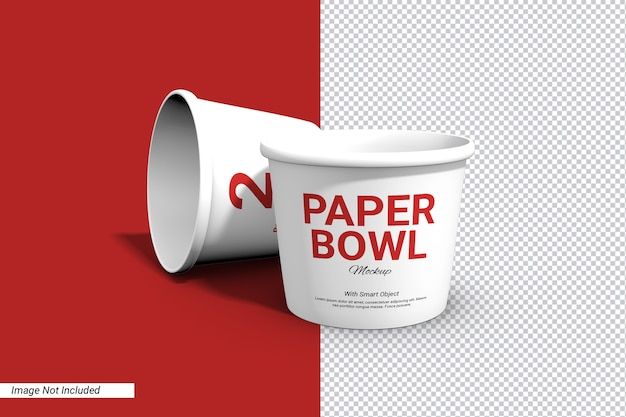 Back to list of free 5823+ bowl mockup free yellowimages mockups. Premium Psd Label Paper Bowl Cup Mockup Isolated