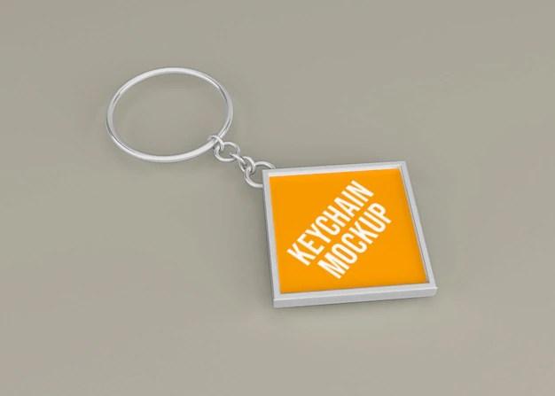 Event wristband bracelet mockup features: Premium Psd Metallic Keychain Mockup