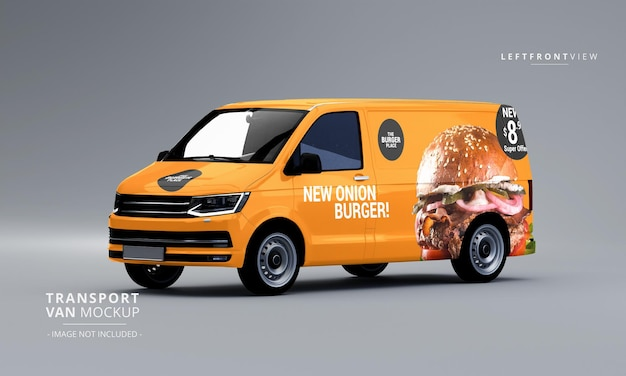Free suv car vehicle branding mockup. Van Mockup Psd 200 High Quality Free Psd Templates For Download