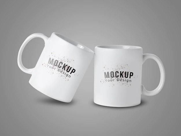 Premium mockup from the web. Coffee Cup Mockup Freepik