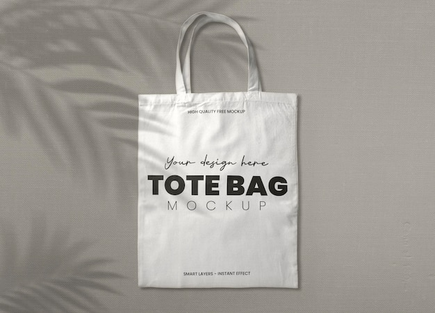 Another free shopping bag mockup, but this time this bag is more appropriate for wine bottle. Free Psd White Tote Bag Mockup