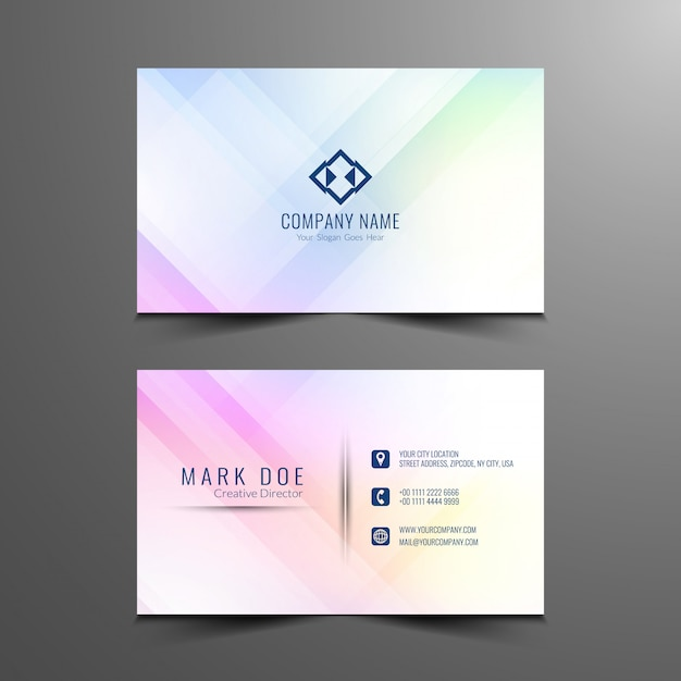 Business Card Vectors  Photos and PSD files   Free Download Abstract business card design template
