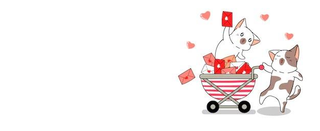 Download Simple valentine sale banner | Free Vector