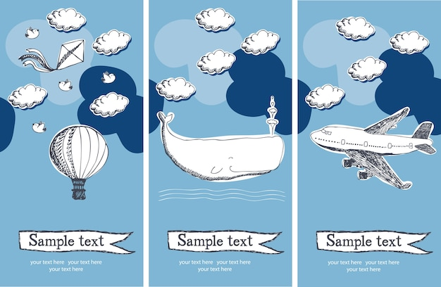airplane invitation images free