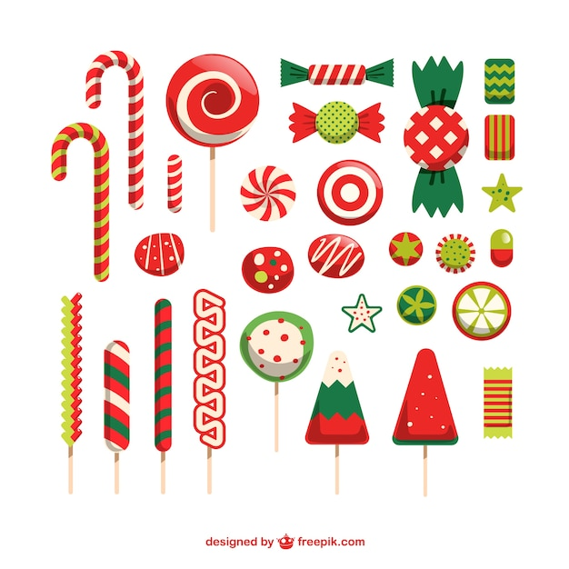 Christmas Candy Vectors Photos And PSD Files Free Download