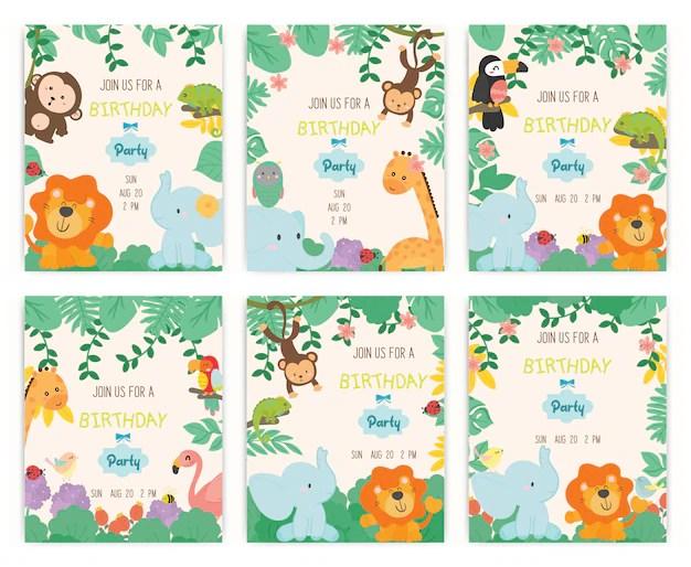 jungle adventure theme birthday