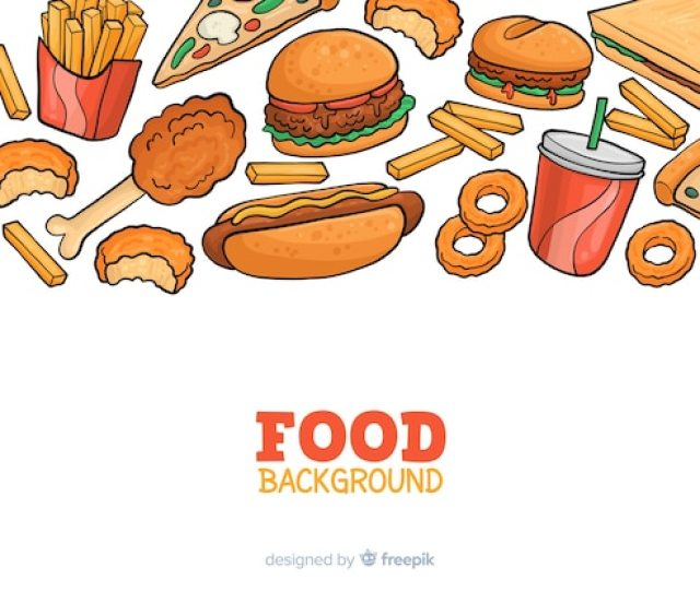 Free Food Vectors  Images In Ai Eps Format