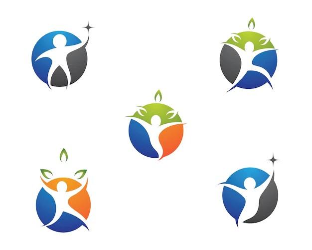 Apple Tree Logo Design Vector