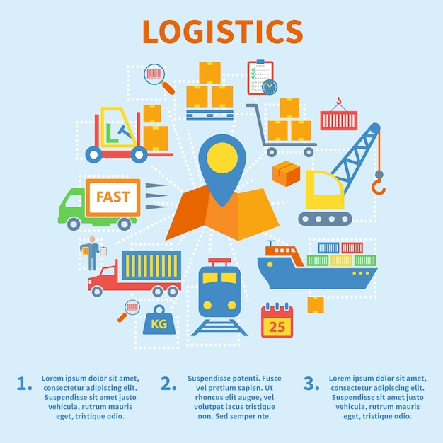 Logistics Vectors Photos And PSD Files Free Download