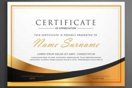 Certificate Vectors  Photos and PSD files   Free Download Luxurious certificate