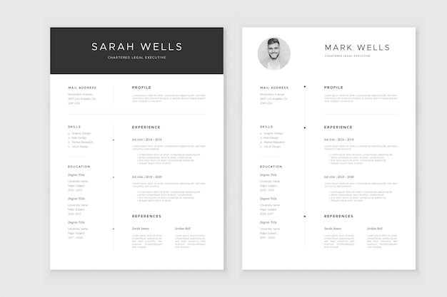 Download unlimited free resume templates from our website www.resumeinventor.com get 25% off your. Cv Template Images Free Vectors Stock Photos Psd