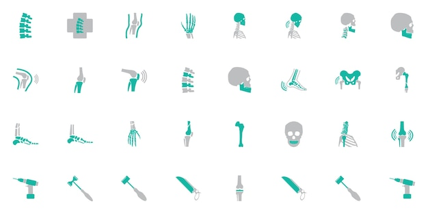 Health People Icons Vector