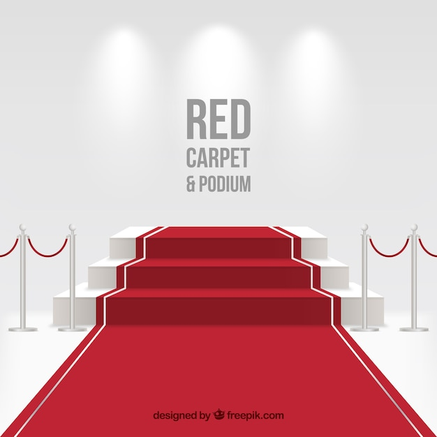 Red Carpet Vectors  Photos and PSD files   Free Download Red carpet background in realistic style